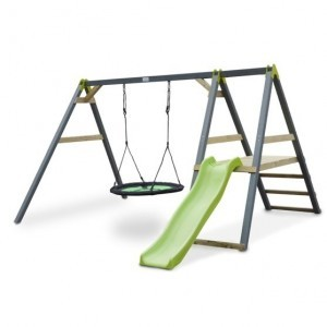 Aksent nest swing with slide - Exit (52.03.50.00)