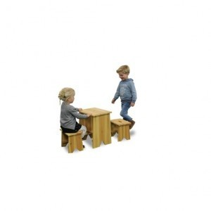 Exit Picnic Set with Two Children's Stools