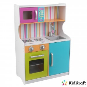 Children's kitchen 'Bright' in bright colors - Kidkraft (53378)