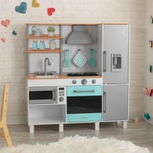 Gourmet Chef Play Kitchen With EZ Kraft Assembly - Kidkraft (53421)