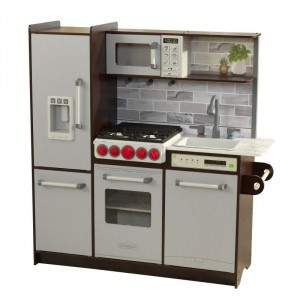 Ultimate Elite Espresso Play Kitchen - Kidkraft (53335)