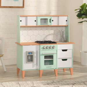 Mid-century Modern Play Kitchen With Ez Kraft Assembly