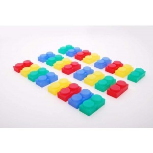 Silishapes® Soft Bricks - Pk24