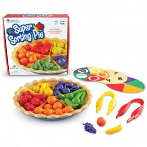 Super Sorting Pie - Explore your senses (60161)