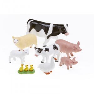 Jumbo Farm Animals - Mommas & Babies - Explore your senses (60163)