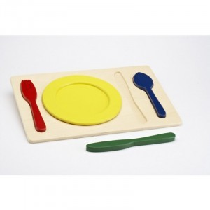 Place Setting Board - Explore your senses (60211)