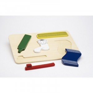 Bathroom Shape Board - Explore your senses (60212)