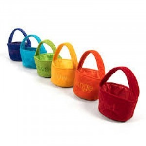 Colour Sorting Shopping Bags - Explore your senses (61126)