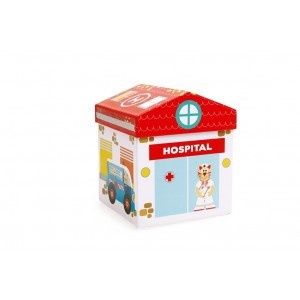 Play Box Hospital 2 In 1 -  (6181104)