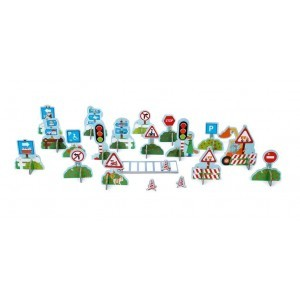 Mix Play Traffic Signs -  (6181114)