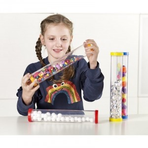 Sensory Tubes - Set of 4 - Explore your senses (62208)