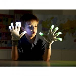 LED Flashing Gloves - Explore your senses (62235)