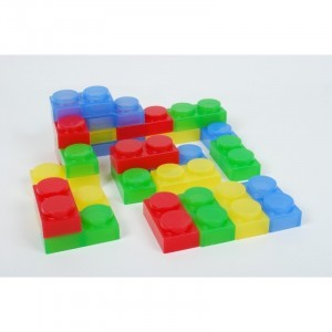 Silishapes Soft Bricks - Explore your senses (62494)