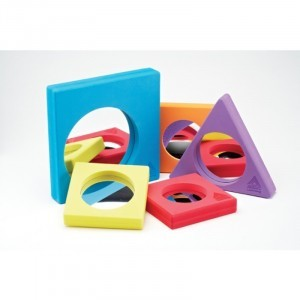 Foam Surround Mirrors Set - Explore your senses (63203)
