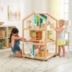 So Stylish Mansion Dollhouse With EZ Kraft Assembly - Kidkraft (65199)