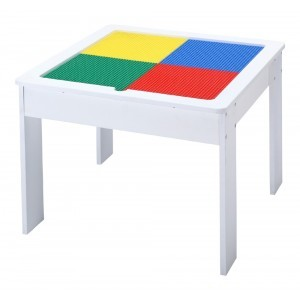 Wooden Activity Table With Reversible Top - Liberty House Toys (652PT)