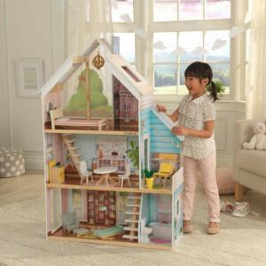 Kidkraft Zoey Dollhouse With Ez Kraft Assembly 65960