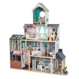 Celeste Mansion Dollhouse With Ez Kraft Assembly