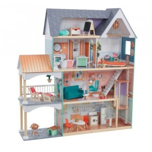 Dahlia Mansion Dollhouse with Ez Kraft Assembly