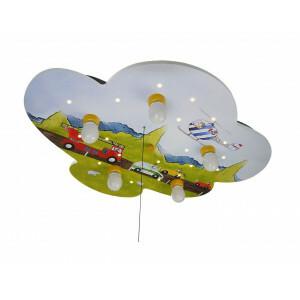 """Ceiling Lamp Cloud, Cars """"Amazon Echo Compatible"""""""