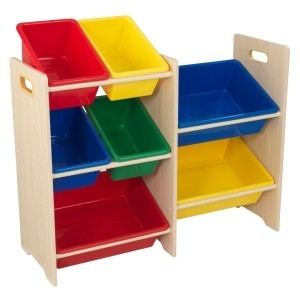 7-pieces Bin Storage Unit 'Sort it en Store it' (primary colors) - KidKraft (15470)