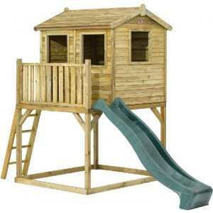 Adventure Wood Playhouse - Plum (7092.056)