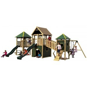 Play Equipment Wildebeest Wood - Plum (7092.142)