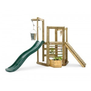 Discovery Woodland Treehouse Play Set Wood - Plum (7092.183)