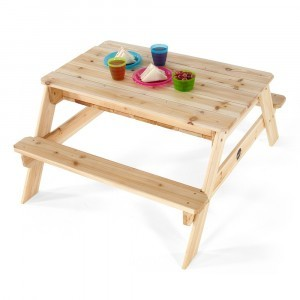 Wooden Sand and Picnic Table - Plum (7092172)