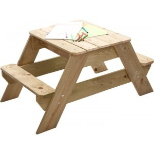 Sand and Picnic Table for 2 Joy Wood - TP Toys (7095.031)
