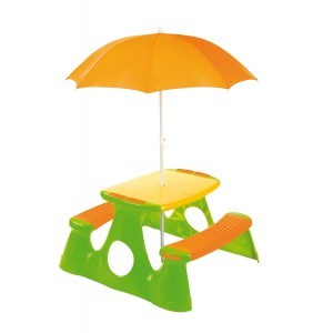Picnic Table With Umbrella - Paradiso Toys (7099.010)