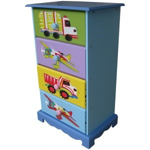 Transport 4-drawer Storage - Liberty House Toys (LHT10062B)