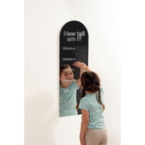 Large 9-domed Acrylic Mirror Panel - 490mm