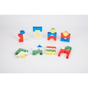 Colour Acrylic Block Set - Pk25