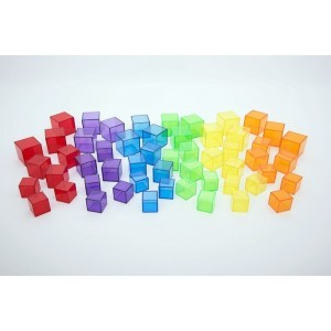 Translucent Cube Set - Pk54