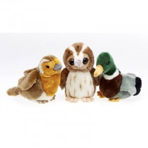 RSPB Singing Birds - Set of 3 - Explore your senses (74208)