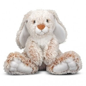 Burrow Bunny Rabbit Stuffed Animal - Melissa & Doug (7674)