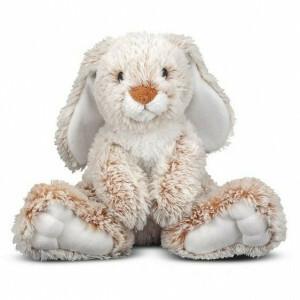 Burrow Bunny Rabbit Stuffed Animal - Melissa & Doug (7674)