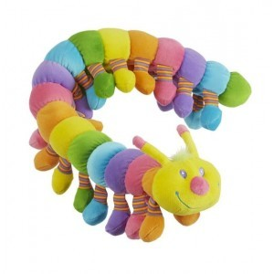 Longfellow Caterpillar Stuffed Animal - Melissa & Doug (7690)