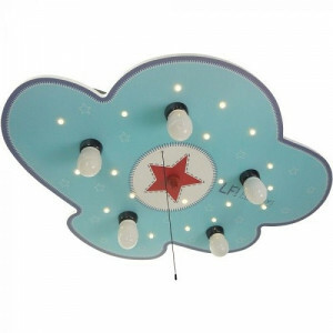 Ceiling Lamp Cloud, Lief for Boys