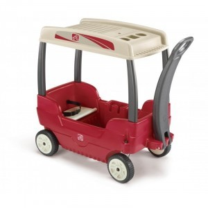 Bolderkar / Bolderwagen with canopy 2 people - Step2 (786800)