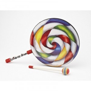 Lollipop Drum - 250mm diameter - Explore your senses (80136)