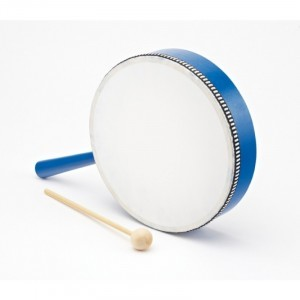 Frame Drum with Handle, set of 3 - Explore your senses (80142)