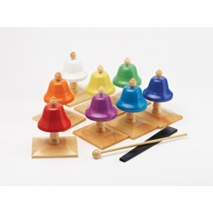 Rainbow Desk Bells - Explore your senses (80192)
