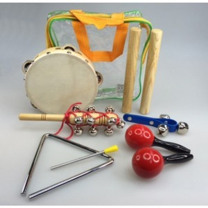 Musical Percussion Kit - Explore your senses (80220)