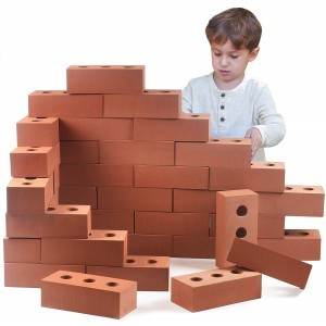 Giant Life Size Bricks (Foam - 50 pieces)