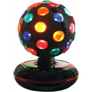 Spinning Disco Ball Multicolor