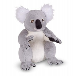 Lifelike Plush Koala Stuffed Animal Soft Toy - Melissa & Doug (18806)