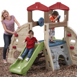 Alpine Ridge Climber and Slide - Step 2 (841000)