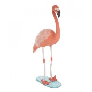 Lifelike Plush Flamingo Stuffed Animal - Melissa & Doug (8805)